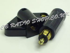 24-12Vdc 10a  Power plug & Socket